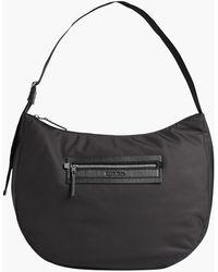 Calvin Klein Recycled Large Hobo Bag - Black