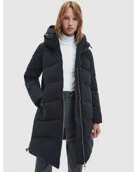 Calvin Klein Donspufferjas Met Capuchon - Zwart