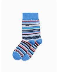 CALVIN KLEIN 205W39NYC - Multicolored Stripe Socks - Lyst
