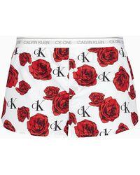 Calvin Klein Loungeshorts - Ck One - Wit