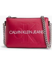 Calvin Klein Crossbody Bag - Rot