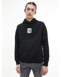 Calvin Klein Hoodie Met Logo - Zwart