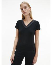 Calvin Klein Pyjama Top - Zwart