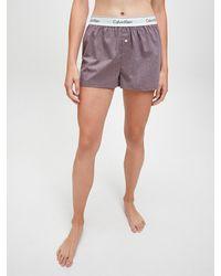 Calvin Klein Pyjama-Shorts - Grau