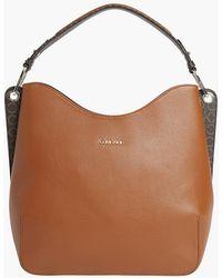 Calvin Klein Hobo Bag - Brown
