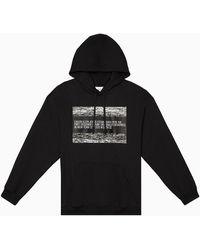 Calvin Klein Unisex Hoodie Met Logo - Zwart