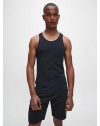Calvin Klein 2er-Pack -Lounge-Tanktops - Modern Cotton - Schwarz