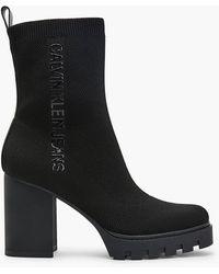 Calvin Klein Heeled Boots - Black