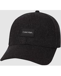Calvin Klein Casquette en feutre - Noir