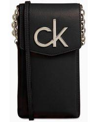Calvin Klein Telefoonbuidel - Zwart