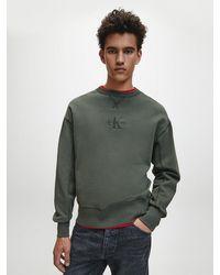 Calvin Klein - Monogram Sweatshirt - Lyst