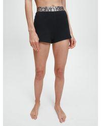 Calvin Klein Loungeshorts - Icon - Zwart