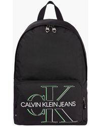 Calvin Klein - Recycled Nylon Round Backpack - Lyst