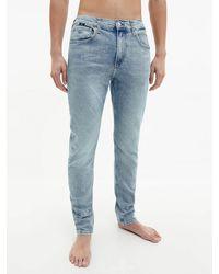 Calvin Klein Slim Tapered Jeans - Blue