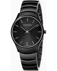 Calvin Klein Horloge - Classic Too - Zwart