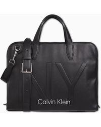 Calvin Klein Sac dordinateur - Noir