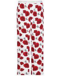 Calvin Klein Pyjamabroek - Ck One - Wit