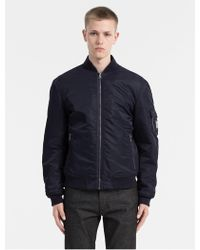CALVIN KLEIN 205W39NYC - Padded Bomber Jacket - Lyst