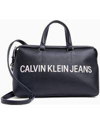 Calvin Klein Logo Duffle Bag - Black
