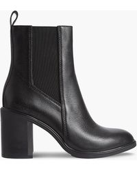Calvin Klein Chelsea-Boots mit Absatz - Schwarz