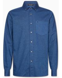 Calvin Klein - Brushed Twill Button-down Shirt - Lyst
