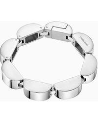 Calvin Klein Armband - Wavy - Metallic