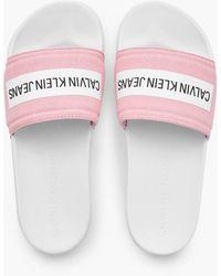 Calvin Klein Slippers - Pink