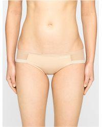 CALVIN KLEIN 205W39NYC Sculpted Bikini - Natural