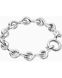 Calvin Klein Armband - Choppy - Metallic