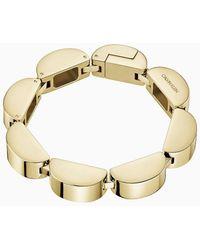 Calvin Klein Armband - Wavy - Geel