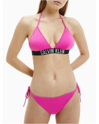 Calvin Klein Intense Power String Bikini Bottom - Multicolour