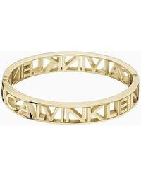 Calvin Klein Brazalete - Name - Amarillo