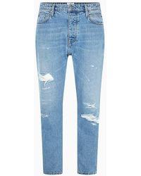 Calvin Klein Dad Jeans - Ck One - Blauw