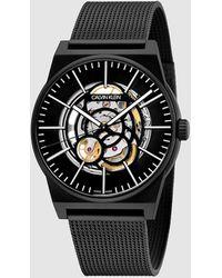 Calvin Klein Horloge - Amplify - Zwart