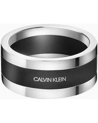 Calvin Klein Ring - Strong - Metallic