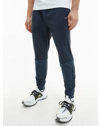 Calvin Klein - Joggingbroek Van Materiaalmix - Lyst