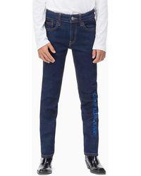 Calvin Klein Slim Fit Jeans - Blauw