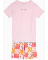Calvin Klein Pijama para ni�as - Modern Cotton - Rosa