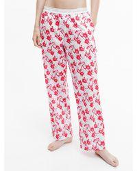Calvin Klein Pyjama-Hose - CK One - Rot