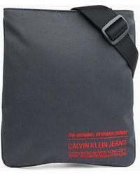 Calvin Klein Nylon Twill Crossovertas - Grijs