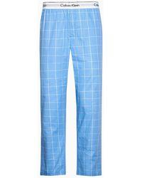 Calvin Klein Pyjamabroek - Modern Cotton - Blauw