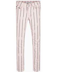 Calvin Klein Jeans skinny a rayas - Rosa