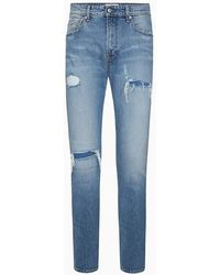 Calvin Klein Ckj 026 Slim Jeans - Blauw