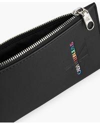 Calvin Klein Unisex Smartphone-Hlle mit Schlsselband - Pride - Schwarz