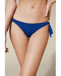 Calzedonia - Side Tie Brazilian Swimsuit Bottom Indonesia - Lyst