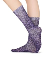 Calzedonia - Tall Patterned Socks - Lyst
