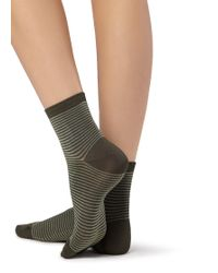 Calzedonia - Short Trendy Patterned Socks - Lyst