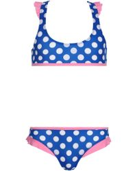 9d3b82675c1 L*Space Girls Best Friend Bikini Top in Black - Lyst