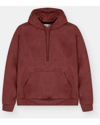 The Silted Company Basic Hoodie Pink - Red