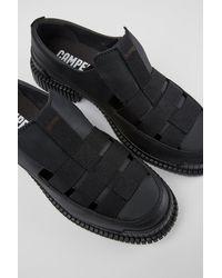 Camper Zapatos de piel en color negro